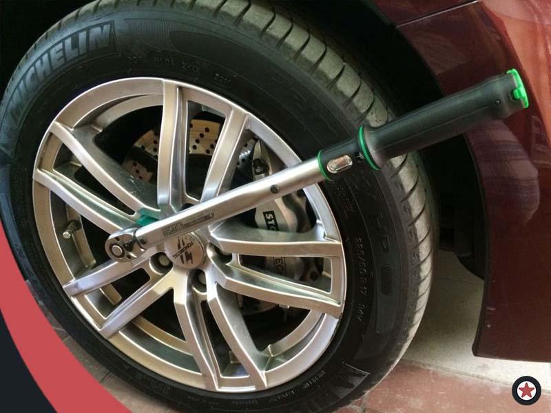 Картинка установка колёс