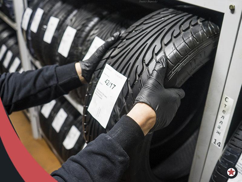 Rfhnbyrf хранение шин на стеллаже МосГорШина