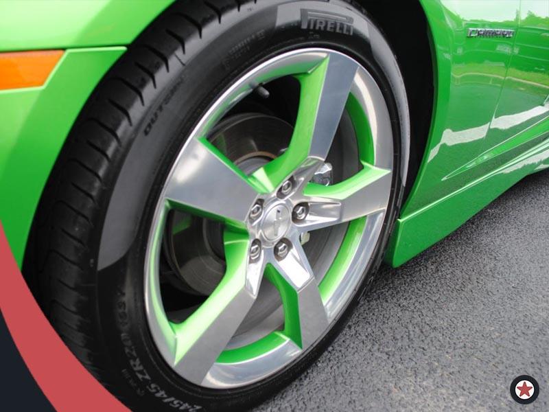 Картинка зеленый диск МосГорШина